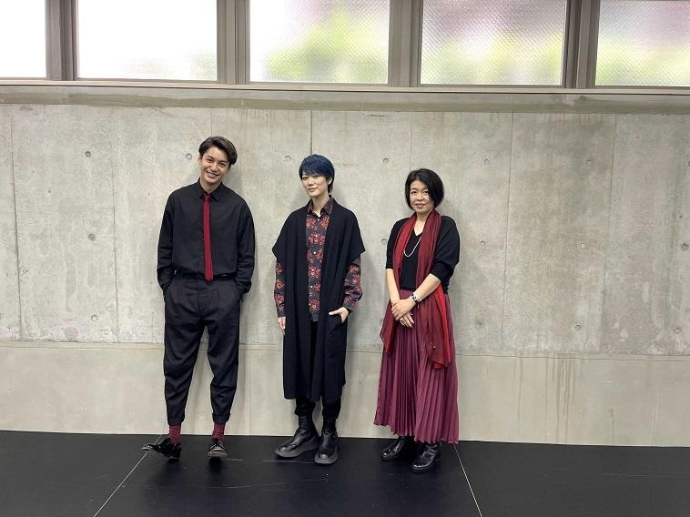 七海ひろき&大野拓朗&有川ひろ『ROSSO』俳優と小説家のSP座談会映像を公開