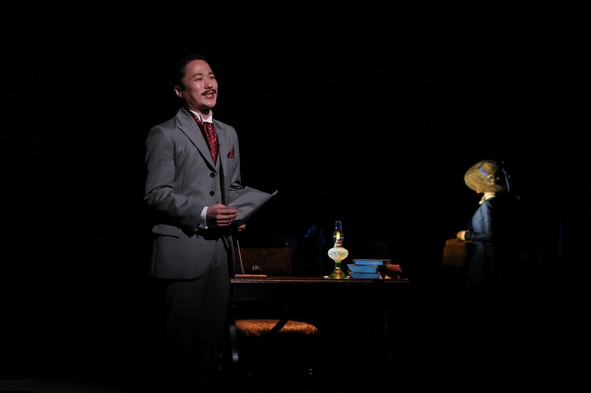 関ジャニ∞・安田章大、神格化されていない人間・ゴッホに体当たり『リボルバー』開幕