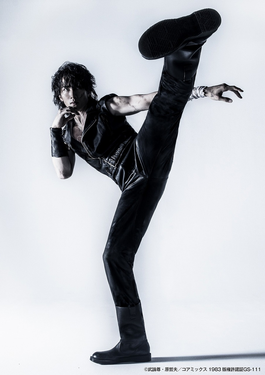 ケンシロウ役は大貫勇輔「北斗の拳」がミュージカル化!加藤和樹・小野田龍之介ら出演で