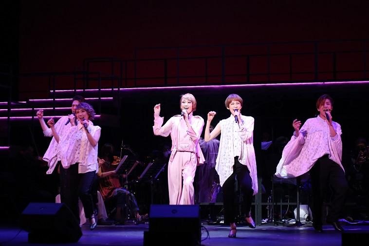 望海風斗コンサート『SPERO』開幕!「最高のギフトをお届けできるよう」