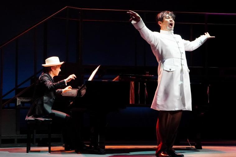 """音楽劇『海の上のピアニスト』開幕!内博貴、藤本隆宏がピアノの音色と紡ぐ孤独な""""天才""""の人生"""